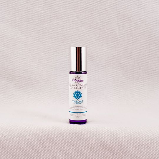 Throat Chakra Gemstone Rollerball by ReAwaken Natural Products